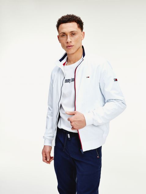 ESSENTIAL BOMBER JACKET ΜΕ ΣΗΜΑΙΑΚΙ