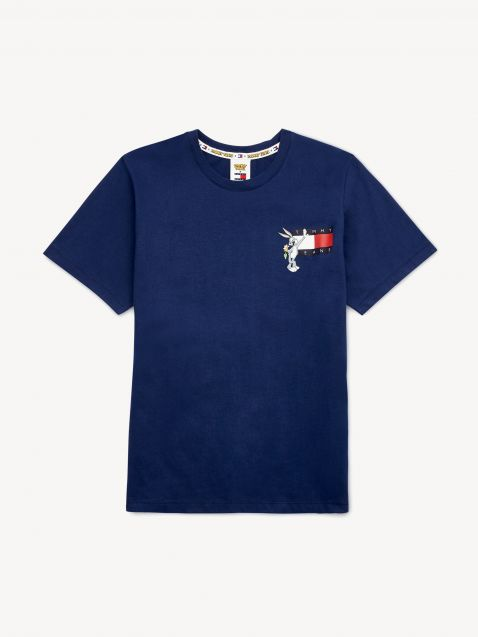 T-SHIRT LOONEY TUNES ΜΕ TOMMY JEANS ΣΗΜΑΙΑ