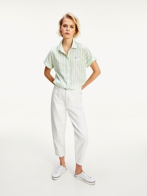 RELAXED TAPERED FIT ΨΗΛΟΜΕΣΟ ΤΖΙΝ