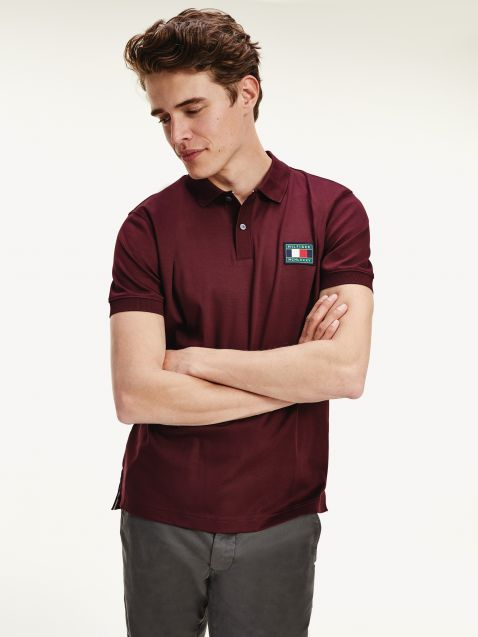 ΜΠΛΟΥΖΑ POLO TH FLEX TOMMY ICONS