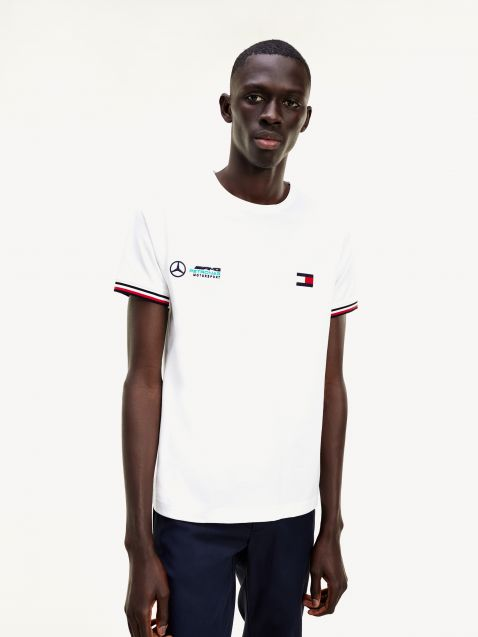 TIPPED T-SHIRT MERCEDES-BENZ ΣΕ SLIM ΓΡΑΜΜΗ