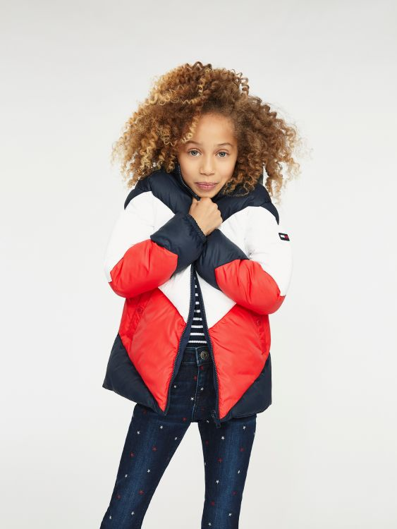REVERSIBLE TOMMY PUFFER