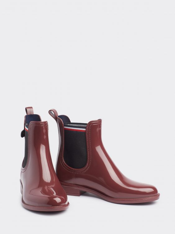 COLOR BLOCK RAINBOOT