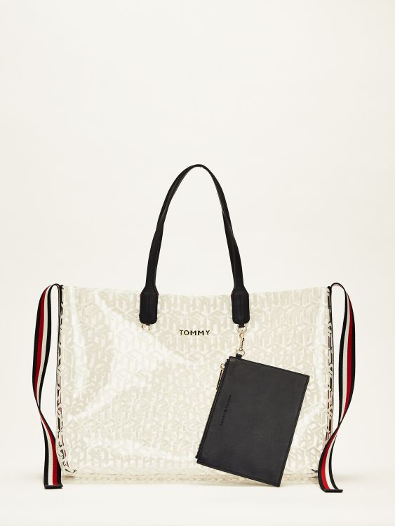 ICONIC TOMMY TOTE TRANSPARENT