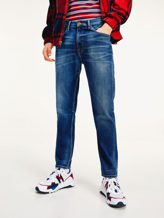 RELAXED FIT TAPERED LEG ΣΤΡΕΤΣ JEANS