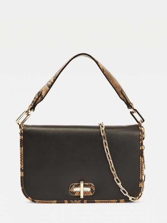 LEATHER STATEMENT BAGUETTE