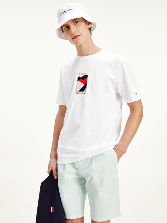 T-SHIRT TOMMY ICONS ΜΕ ΣΗΜΑΙΑ