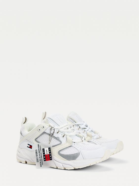 SNEAKERS ΜΕ ΠΑΝΕΛ ΑΠΟ ΔΙΧΤΥ