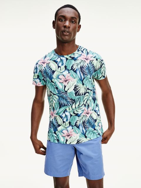 FLORAL T-SHIRT ,MW0MW143330H7