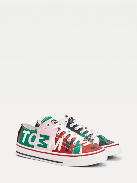 SNEAKERS ΜΕ ΤΥΠΩΜΑ Colour-Blocked  ,EN0EN01164TOJ