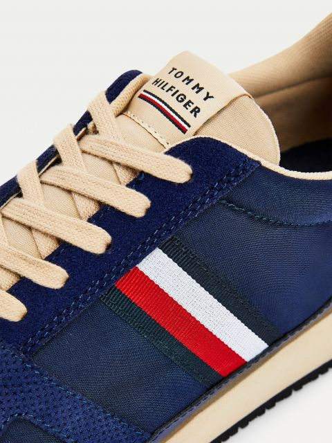 VINTAGE SNEAKERS ΜΕ ΣΥΝΔΥΑΣΜΟ ΥΦΩΝ,FM0FM03431DY4