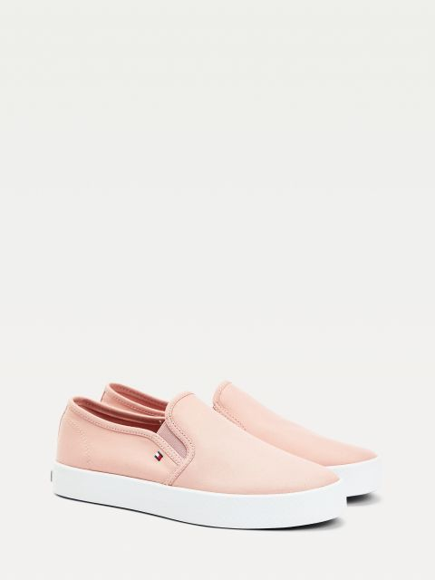 SNEAKERS ESSENTIAL SLIP-ON ΕΦΑΡΜΟΓΗ,FW0FW05535TQS