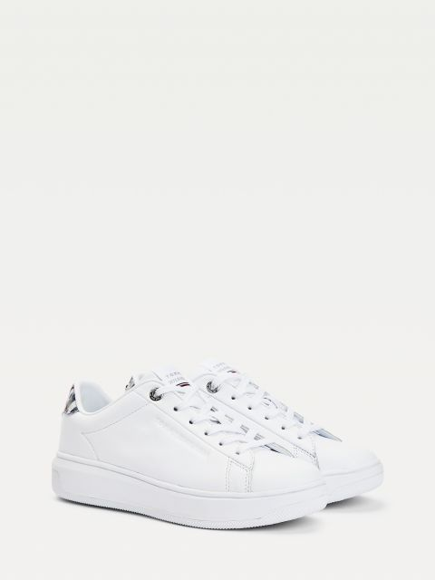 ΔΕΡΜΑΤΙΝΑ SNEAKERS TH MONOGRAM,FW0FW05552YBR