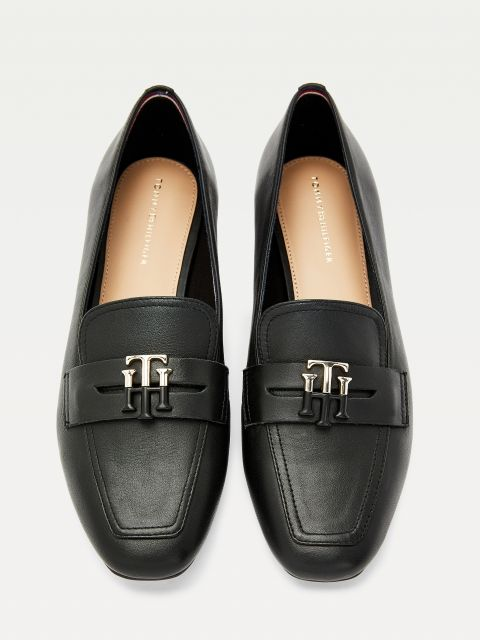 ΔΕΡΜΑΤΙΝΑ LOAFERS ESSENTIAL,FW0FW05684BDS